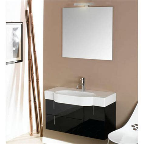 Ada Sinks And Vanities by Enjoy Ne2 Wall Mounted Single Sink Bathroom Vanity Set Includes Cabinet Sink Top Mirror