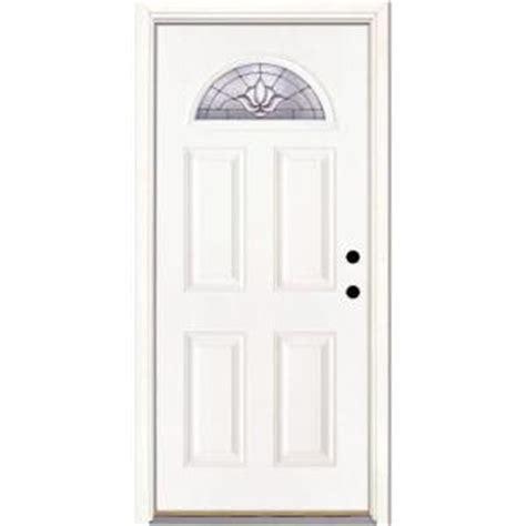 feather river doors 37 5 in x 81 625 in medina zinc fan