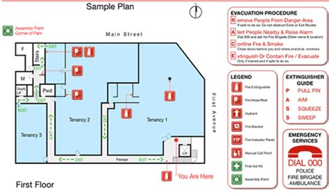 evacuation plan template plan template