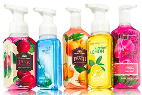 bathtub liquid soap bath body works free hand soap with any purchase