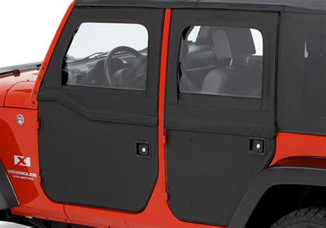 Jeep Tj Soft Doors All Things Jeep Two Soft Rear Doors For Jeep