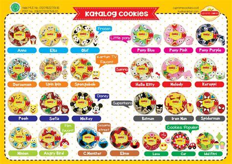Cupreme Cookies Karakter katalog cupreme cookies kue kering karakter 2017 cupreme