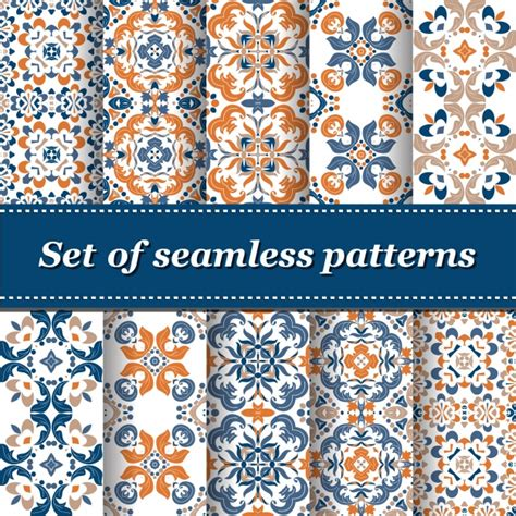 pattern collection download abstract patterns collection vector free download