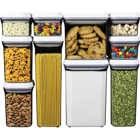 oxo good grips pop  container food storage set reviews