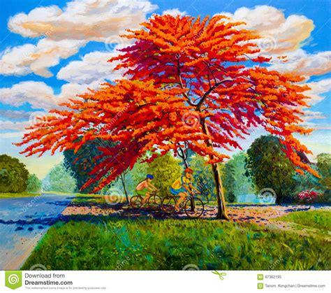 pittura fiori paesaggio di colore a olio della pittura dei fiori di