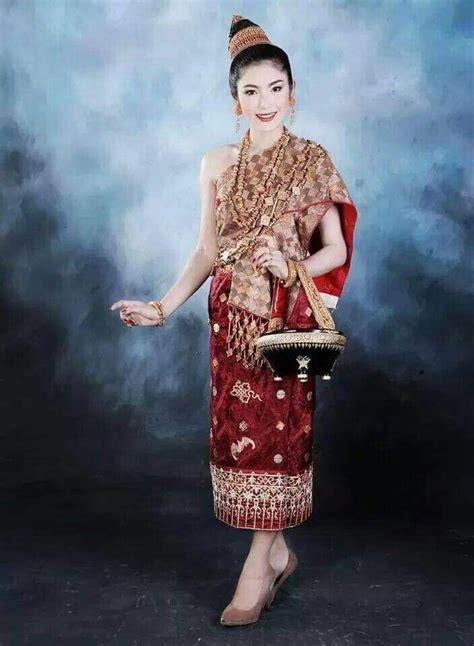 Ss Dress Brukat Sari 11 best traditional fashion images on laos