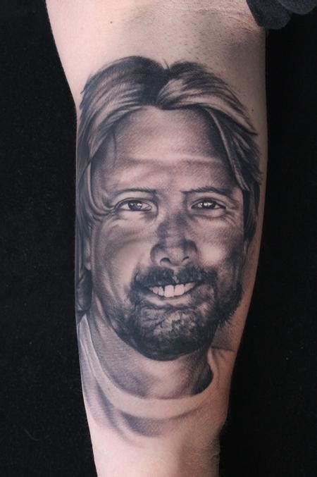 black and grey portrait tattoo artists art junkies tattoo studio tattoos ryan mullins black