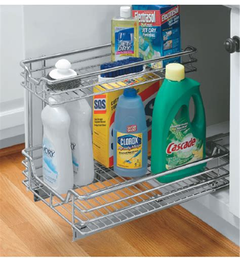 under sink organizer under sink sliding cabinet organizer in pull out baskets