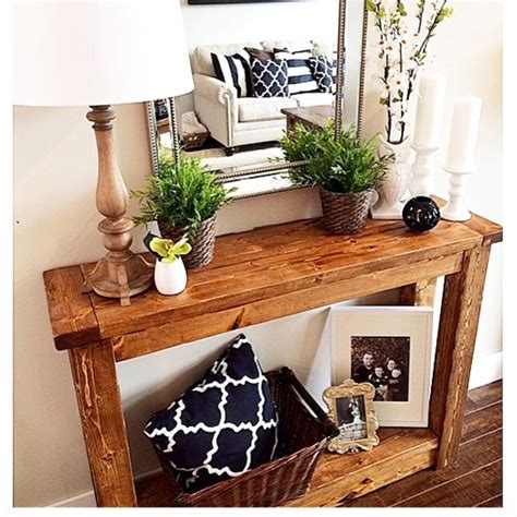 Front Entry Table Diy Entryway Ideas For Small Foyers And Apartment Entryways Involvery Community