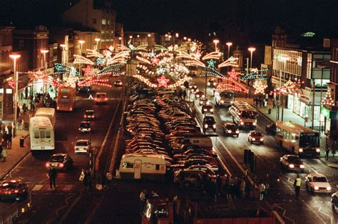 remember when stockton high street christmas lights over