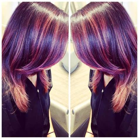 Complementary Colors Pink by 80 Balayage Highlights Ideas For Every Hair Color Hair