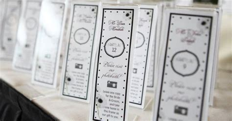 photo booth frame place card template photo booth cards template complete photo booth