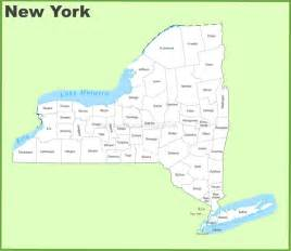 New York County Map by New York County Map