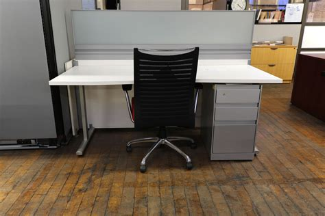 arctic white 2 user open plan workstation peartree office furniture