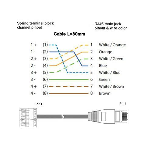 Telepon Kabel Kabel Gulungan Terminal Telepon Rj11 2 Way 15 Meter rj45 terminal wiring diagram wiring diagram with description