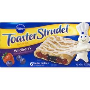 Chocolate Toaster Strudel Pillsbury Toaster Strudel Wildberry W Icing Packets