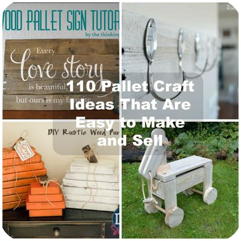 diy projects that sell 110 diy pallet ideas for projects that are easy to make