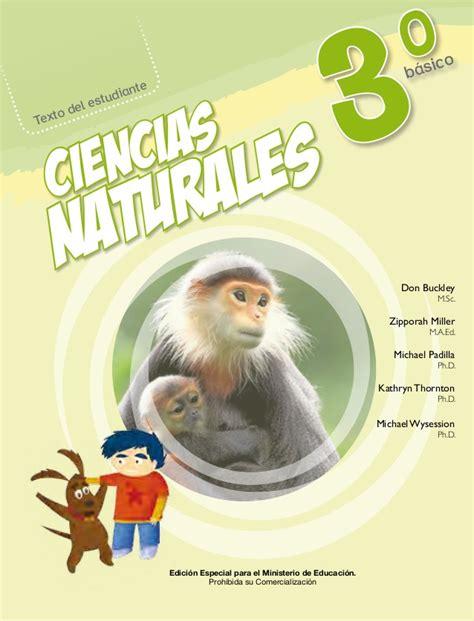 libro de ciencias naturales de 4 del 2016 libro ciencias naturales 3 a 241 o basico estudiante