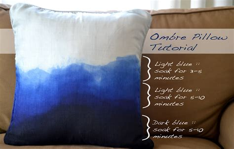 Will Rit Dye Stain Bathtub by A Home In The Create Ombre Pillow