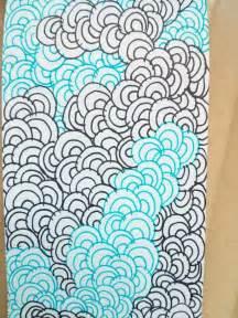 zentangle wave pattern 811 best ideas about doodles on pinterest art journal