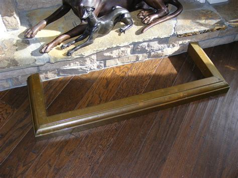fireplace fenders antique antique brass fireplace fender from e3antiques on ruby