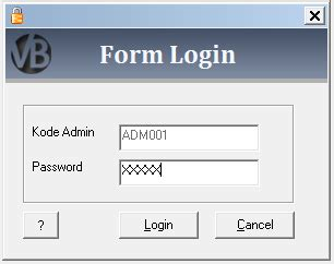 membuat form login vb 6 0 dengan database mysql ikomputert
