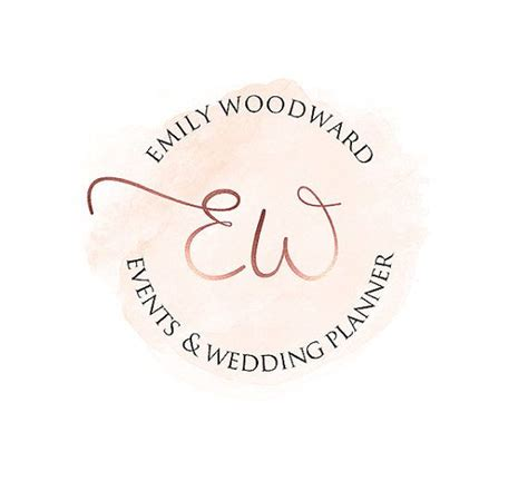 Wedding Organizer Logo by Branding Package Logo Package Gold Logo Wedding