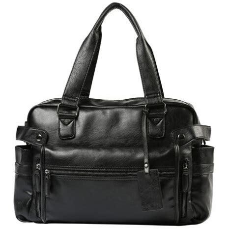 Ac Jinjing tas jinjing wanita vintage leather bag black
