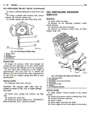 chrysler pacifica 2004 2005 repair manuals download free download 2006 chrysler pacifica service manual