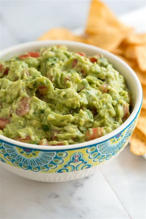 the best basic guacamole recipe dishmaps