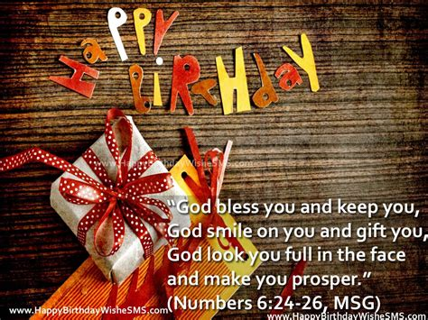 Birthday Wishes With Bible Quotes Happy Birthday Bible Verses Birthday Messages From Bible
