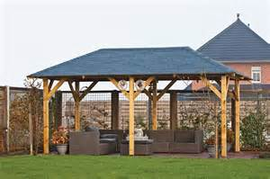 superior wooden gazebo 3 4x5 9m