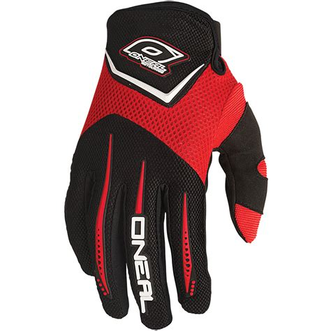 oneal motocross gloves oneal mx gear new 2016 element red youth motocross bmx