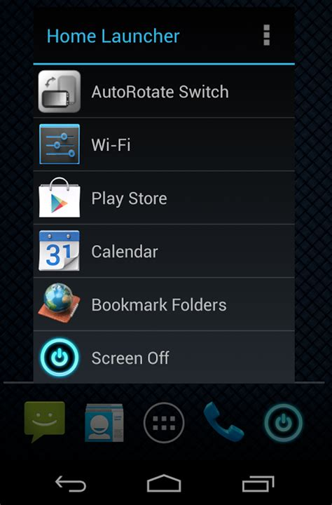 home button launcher pc astuces