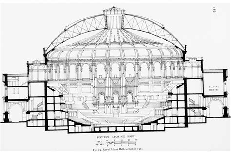 royal festival hall floor plan royal albert hall british history online