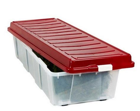 christmas tree storage box rubbermaid photo album