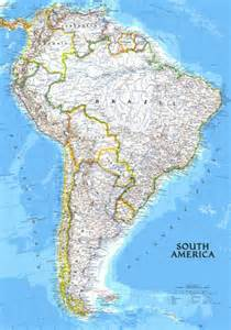 map of south america free large images maps of south america