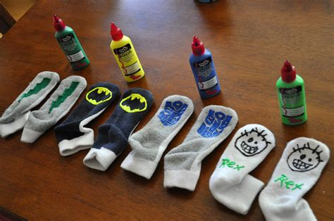 diy sock grips i am momma hear me roar gripper socks