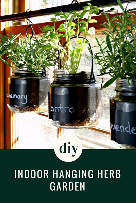 indoor hanging herb garden diy indoor hanging herb garden tutorial quick and simple