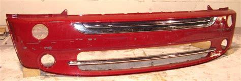 2005 2006 mini cooper base rear bumper cover complete oem 05 06 partsville auto 2005 2008 mini cooper base model w bright trim front bumper cover bumper megastore