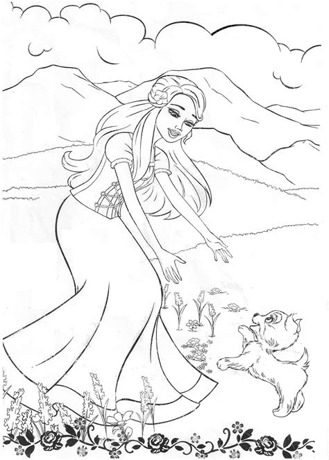 images of coloring pages of barbie free printable barbie coloring pages for kids