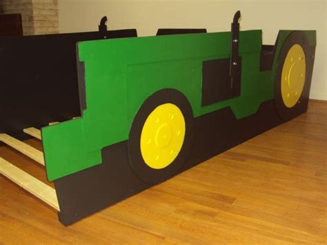 tractor bed frame tractor bed frame buy a handmade tractor twin kids bed