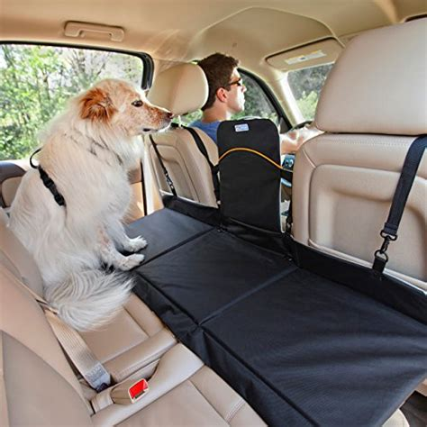 car seat extender for pets kurgo backseat reversible bridge car extender water