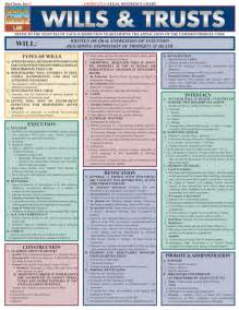 wills and trusts flowchart wills trusts examville sellfy