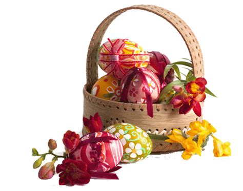 pretty easter eggs pretty easter eggs in basket pictures photos and images