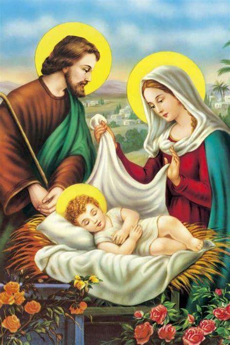 Patung Keluarga Yesus apologetik gambar rohani bunda