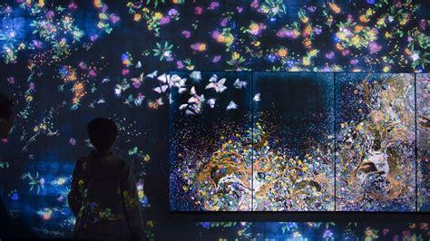 Living Room Corner Ideas by Teamlab Brings 20 000 Square Feet Of Digital Art To