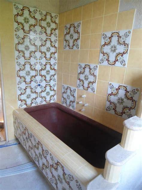 vasca da bagno in muratura foto vasca da bagno in muratura realizzata in cemento