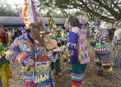 buy mardi gras mardi gras cajun style chasing chickens pigs along the