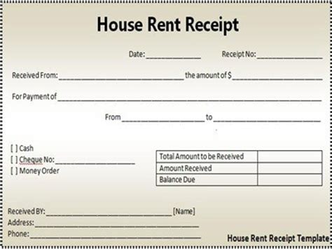 Template For Typed Receipts by Four Receipt Template Types For Your Business